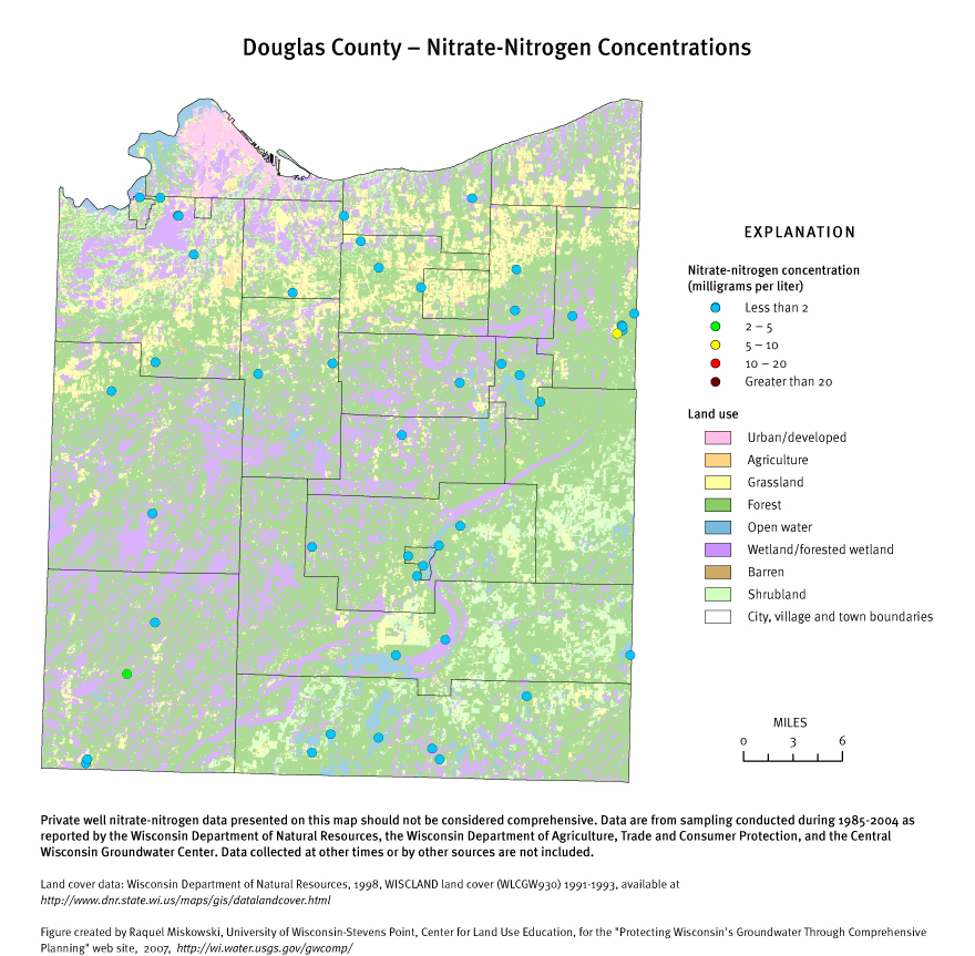 Protecting Groundwater in Wisconsin through Comprehensive Planning on