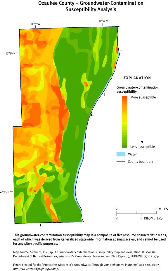 Protecting Groundwater in Wisconsin through Comprehensive ... on map of shorewood, map of greendale, map of wausau, map of menomonee falls, map of lake geneva, map of superior, map of pewaukee, map of elm grove, map of belgium, map of mukwonago, map of fox point, map of eau claire,
