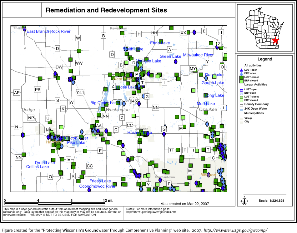 protecting groundwater in wisconsin through comprehensive